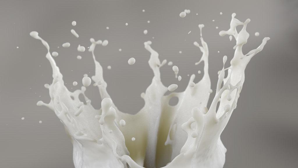 fluid splash 3D model