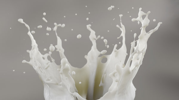 fluid splash 3D model