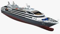 Cruise Ship Le Austral
