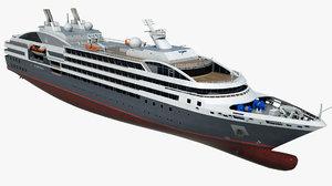 large cruise le austral 3D model
