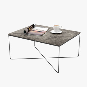 table realistic model