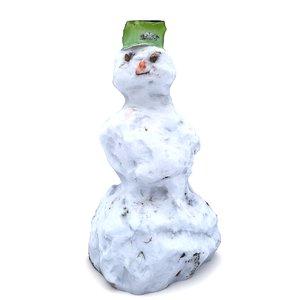 scan snowman 3D
