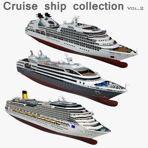3D cruise ships 2