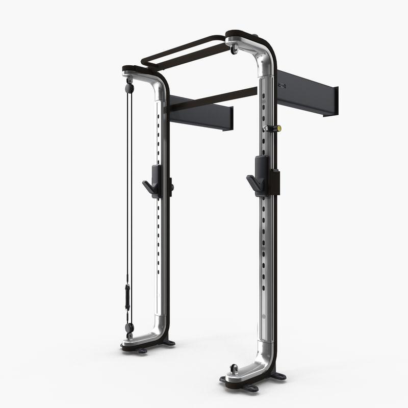 omnia gym straight pull model