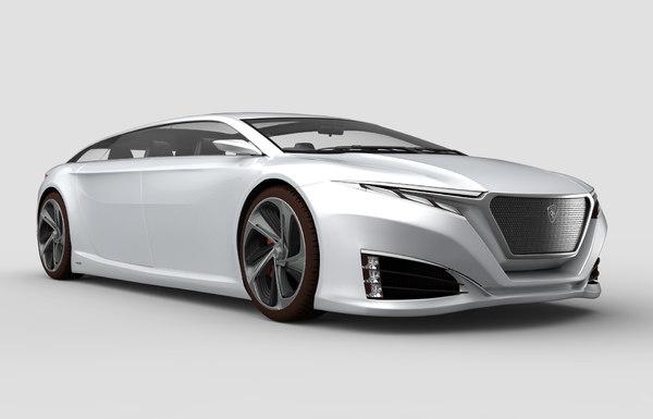 car proton 3D model