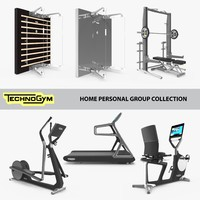 Gym collection technogym, Home personal line group, fitness set, 7 unit