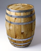 3D model realistic barrel