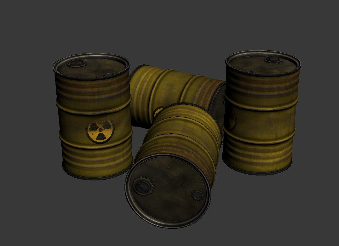 3D gallon3d asset