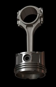 3D piston combustion engine