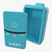 tracker kids kidgps 3D model