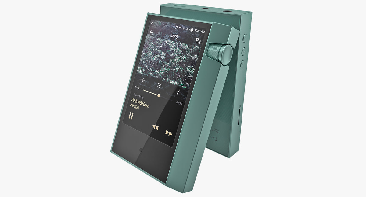 portable music player astell 3D