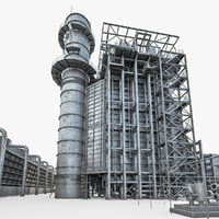 Gas Turbine Plant - Full Set