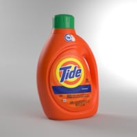 tide detergent bottle model