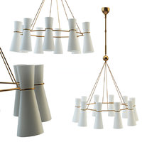 clarkson chandelier 3D
