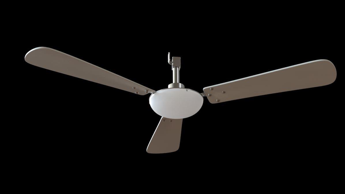 3D celling fan
