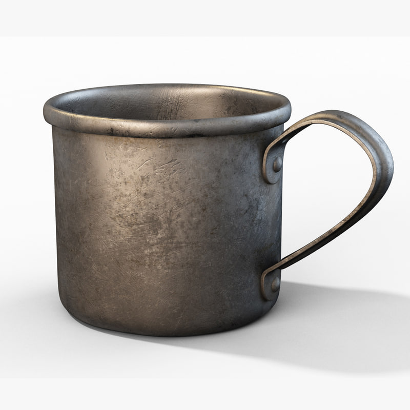 old cup 3D model