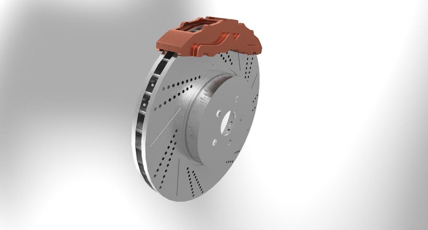 brake disk 3D model