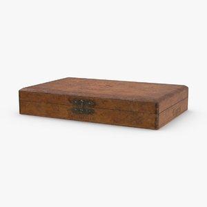 vintage-wooden-cigar-box---closed model