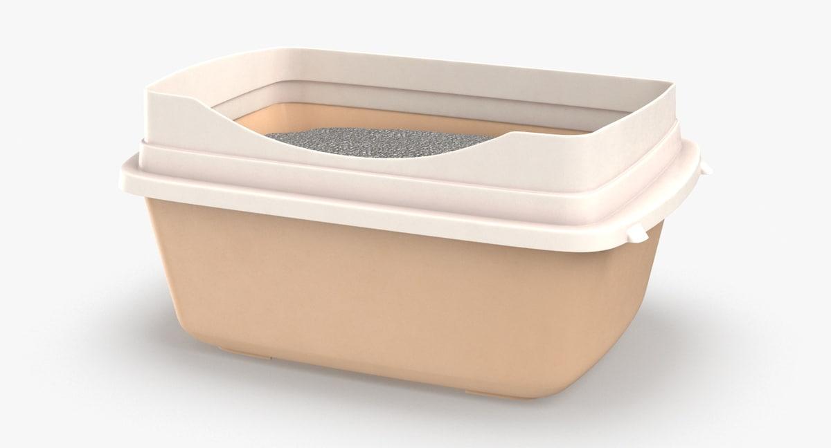 litter-box---stem 3D model