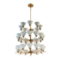 cleo three-tier chandelier 3D model