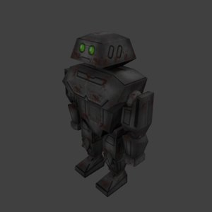 mecha robot 3D model