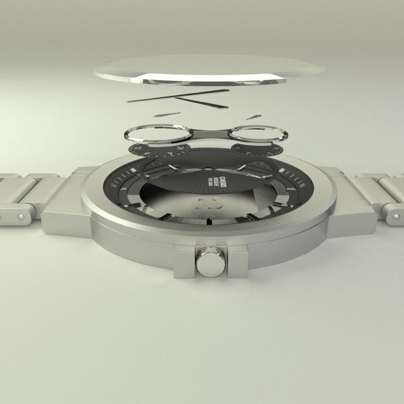 casio 3D model