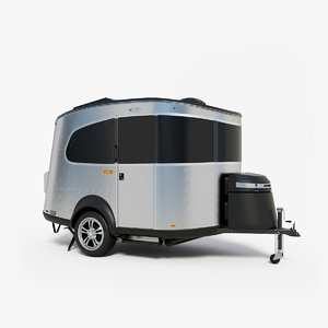 3D airstream basecamp model