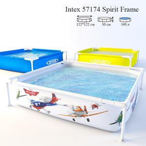 3D swimming pool children 57174