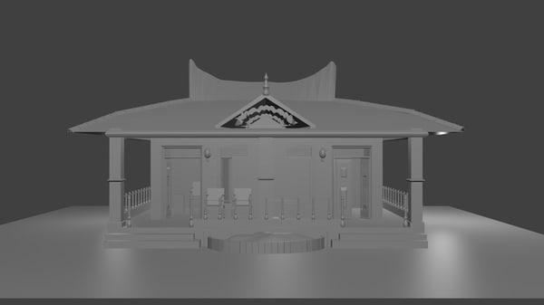 small 3D model