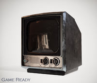 3D sony retro tv ready model