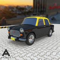 mumbai taxi 3D