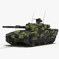 CV90 120-T Light Tank (Green Camo)