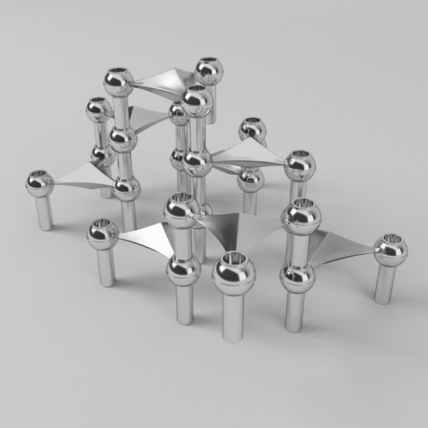 candle holder bmf quist 3D model