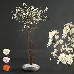 decorative wood 3D model