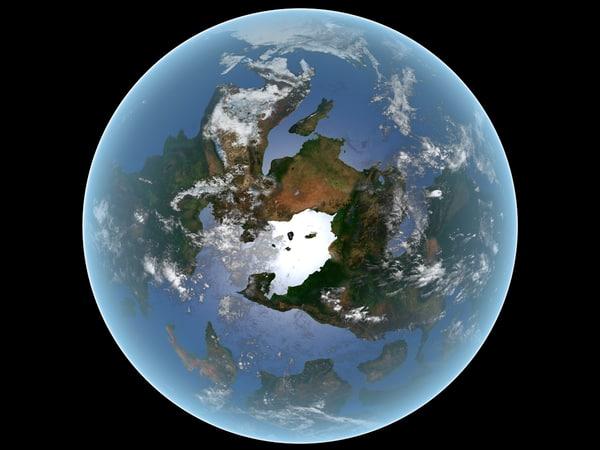 3D model exoplanet planet