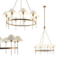 3D hackney large chandelier