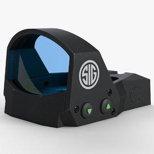 3D sig optics romeo 1