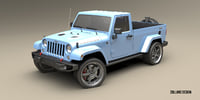 jeep pickup model