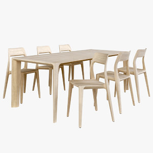 gud raia table november 3D model