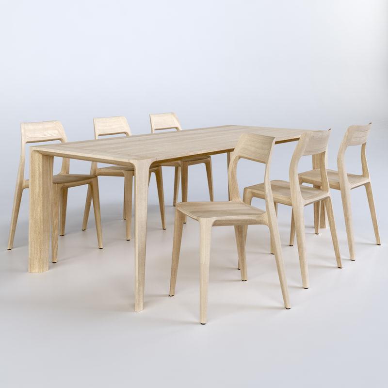 gud raia table november 3D model