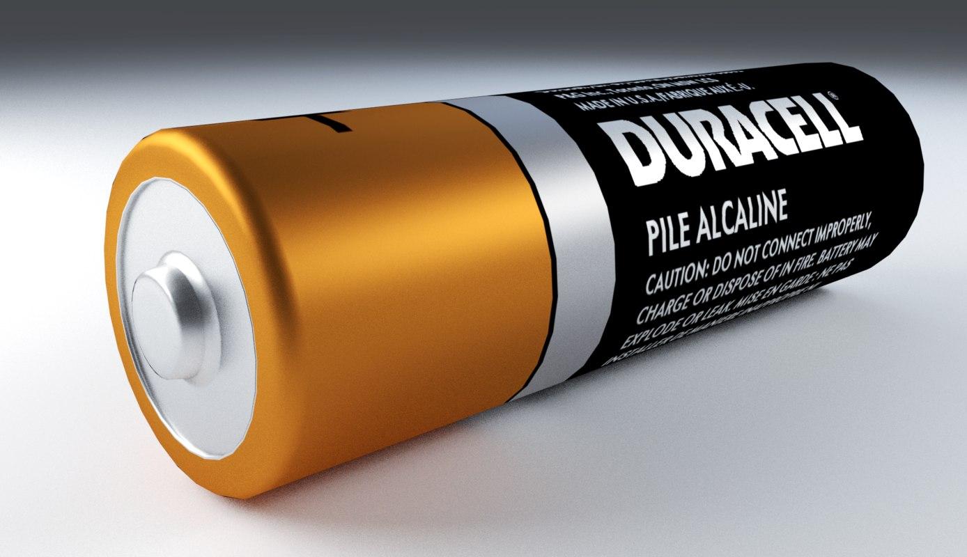 duracell battery model
