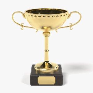 3D trophy