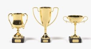 3D trophies model