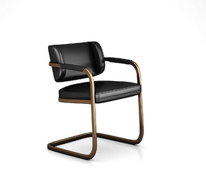 3D jimmy chair industry model
