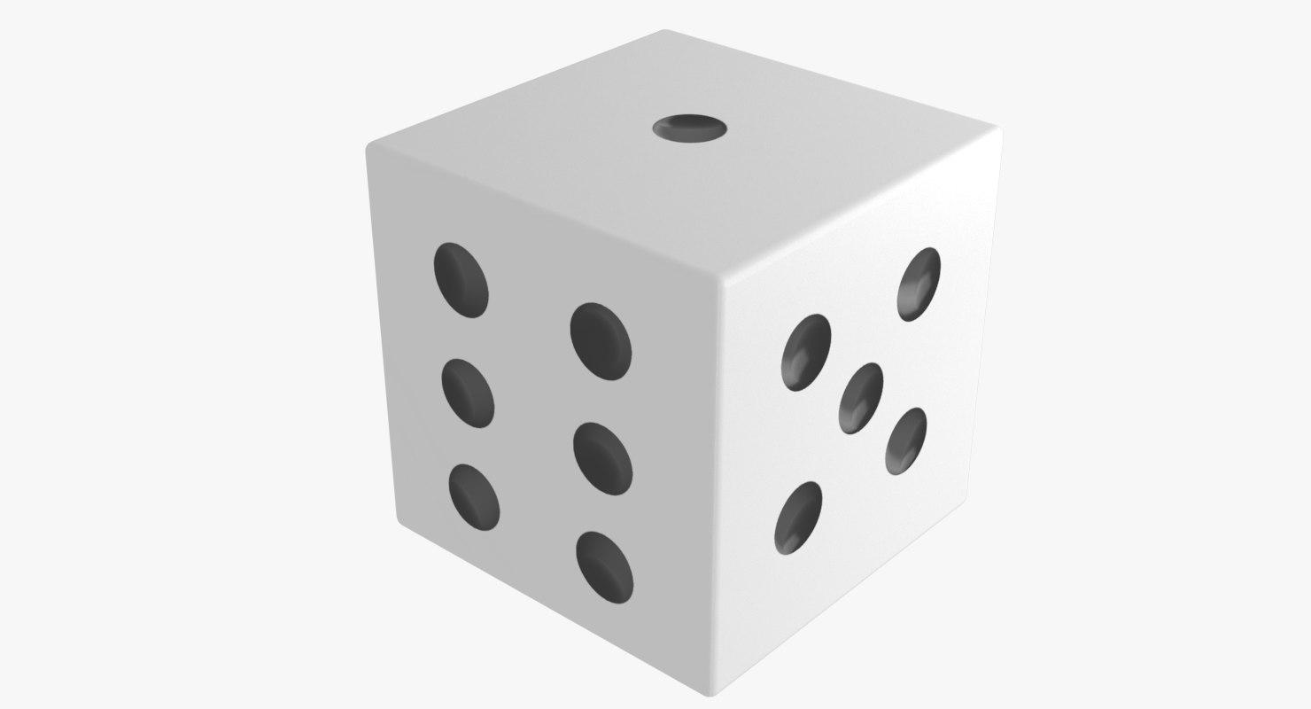 3D dice polys