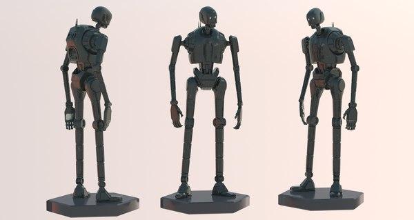 3D k-2so rogue robot