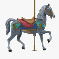 carousel horse v6 model