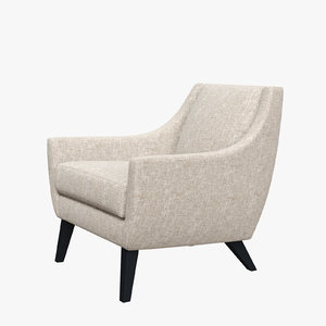 michael berman summit lounge chair 3D