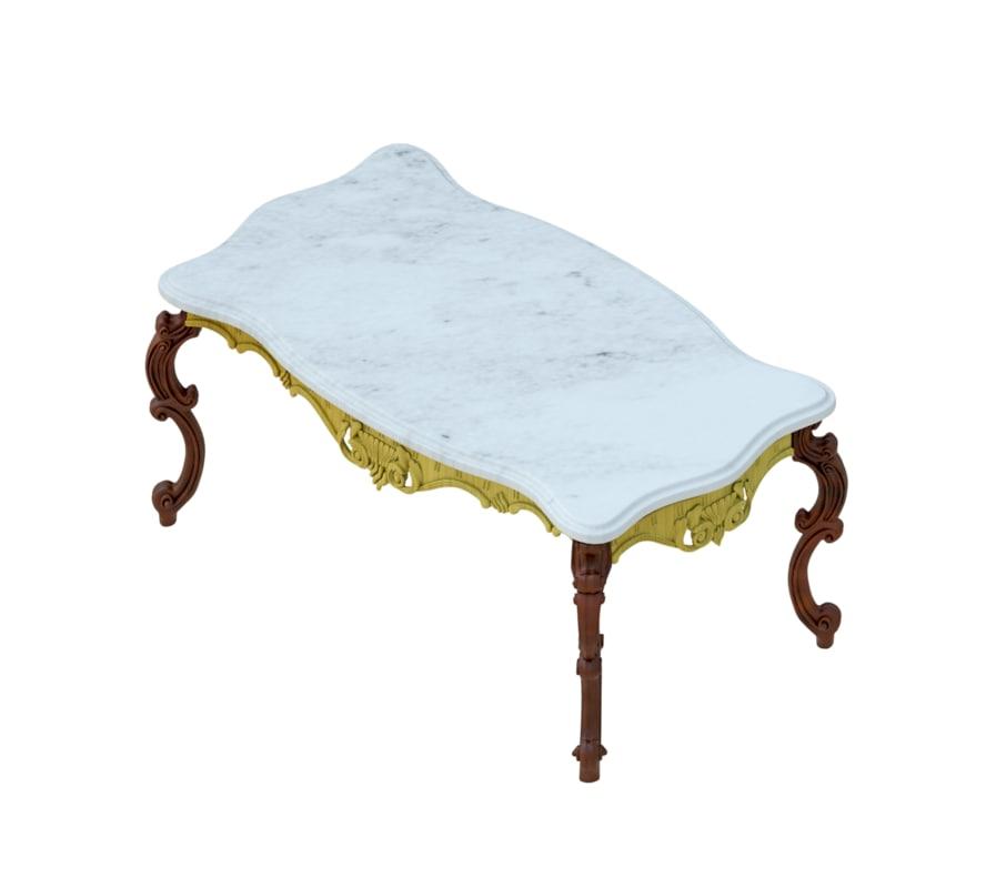3D revit table model