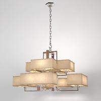 eichholtz chandelier furstenberg 3D model